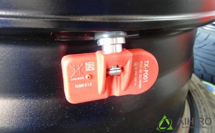 空気圧センサー レクサス 相広タイヤ