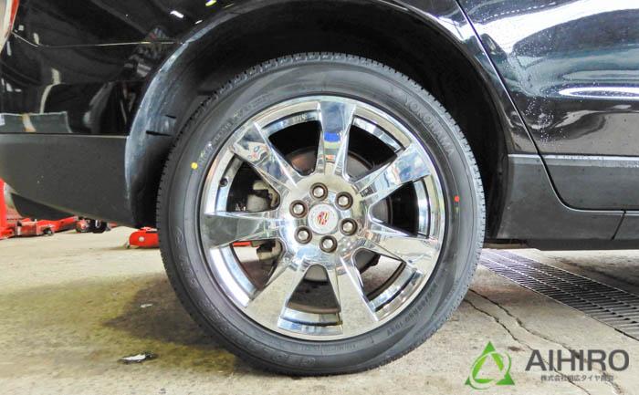 キャデラック タイヤ交換 ジオランダーSUV