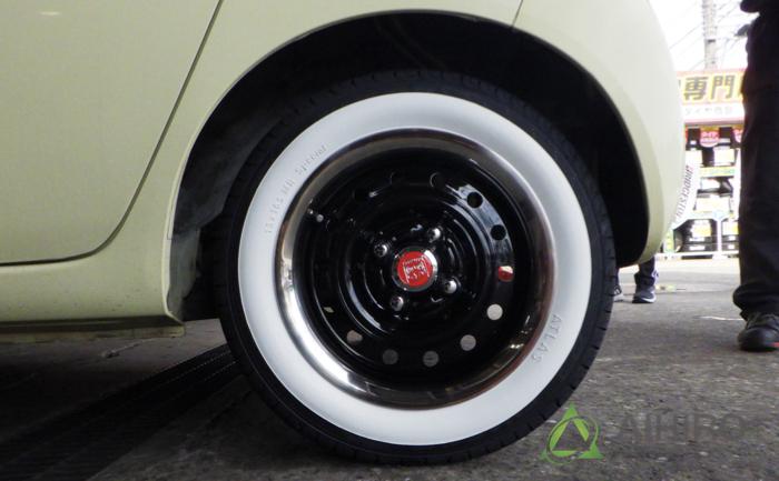 タイヤ交換 ダンロップ ホイールキャプ