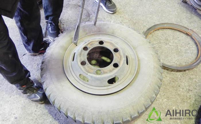 相広タイヤ リング付きタイヤ トラック