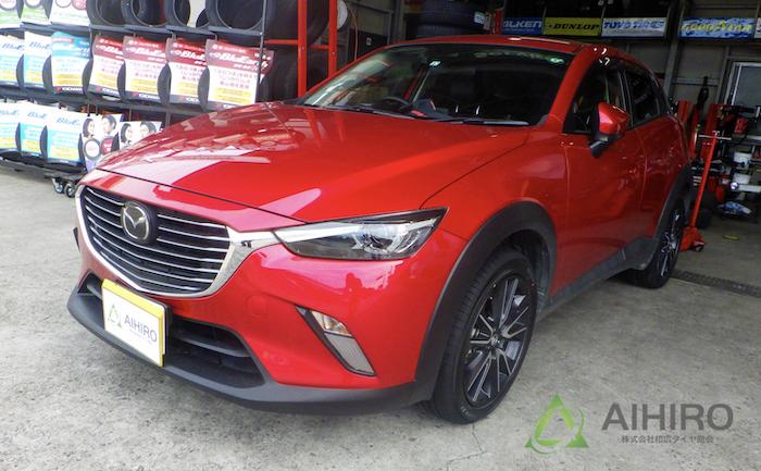 CX-3 タイヤ交換 埼玉県川越市