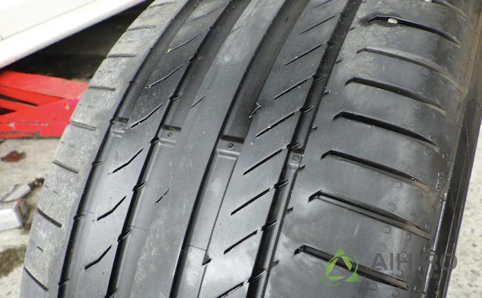 コンチスポーツ5 SSR タイヤ交換