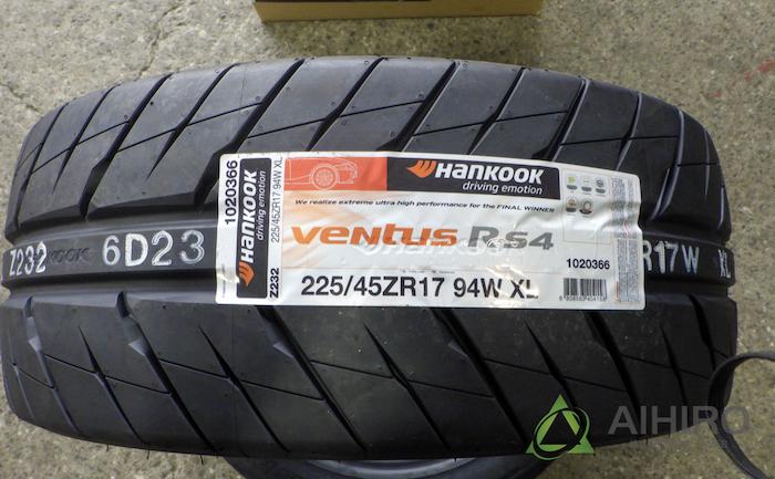 ハンコック ベンタスR-S4 タイヤ