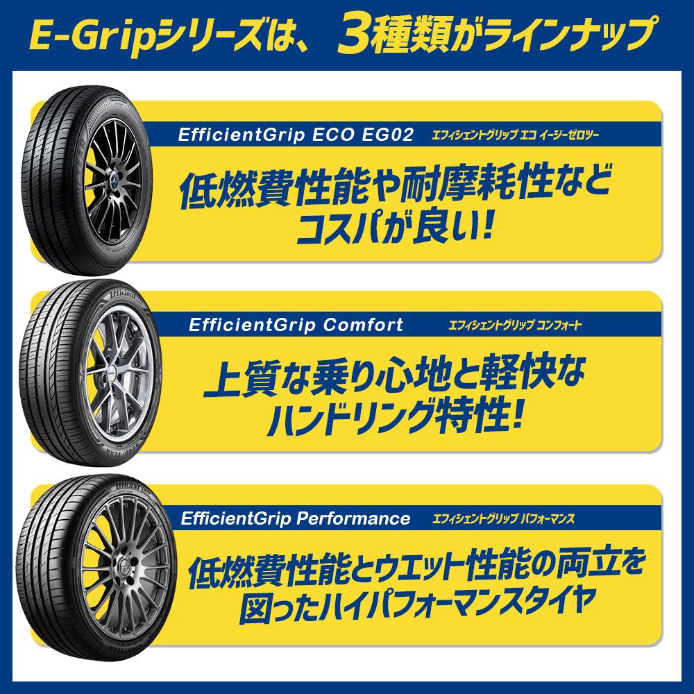 グッドイヤー E-Grip 比較 タイヤ