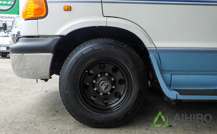 タイヤ交換 ミシュラン ダッジラム