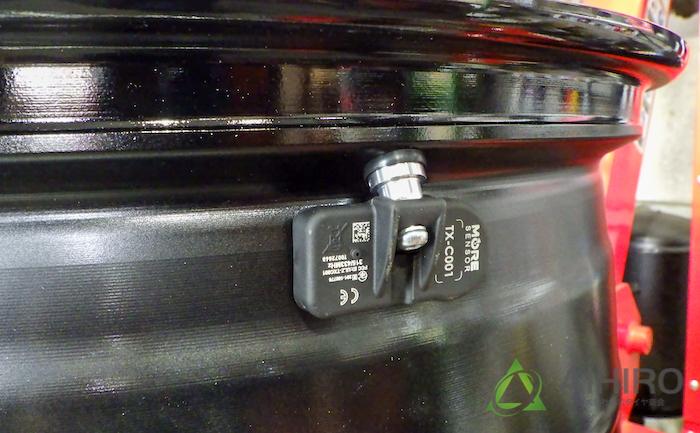 純正ホイール 空気圧センサー ホイール交換