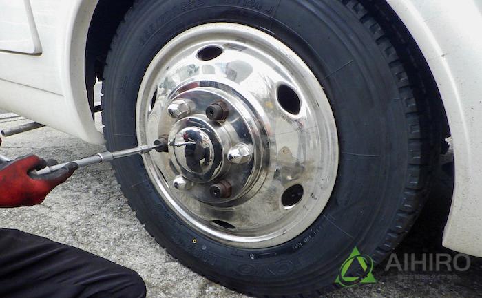 ハブキャップ ホイール タイヤ交換