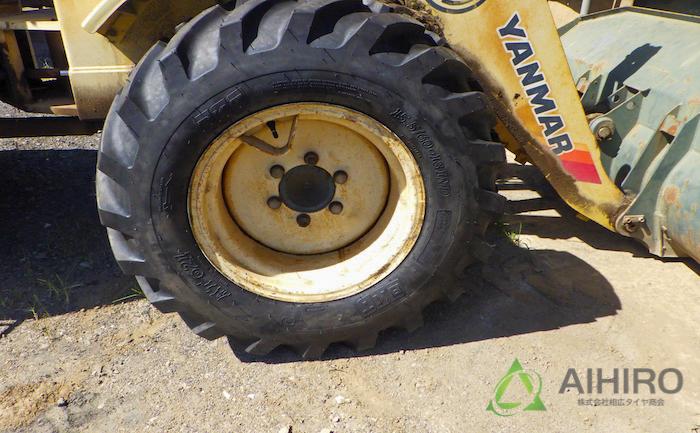 タイヤ交換 BKT フロントタイヤ