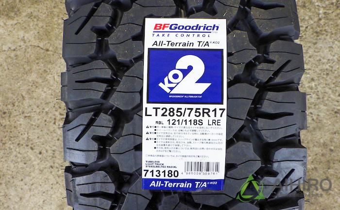 BFグッドリッジ タイヤ交換 オールテレーン