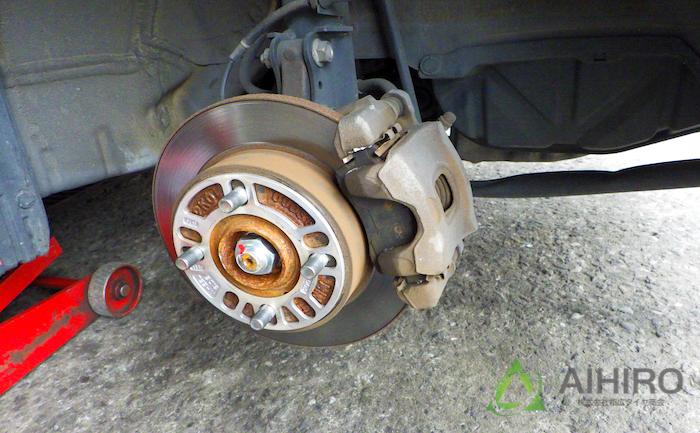フロントブレーキ キャリパー ワゴンR