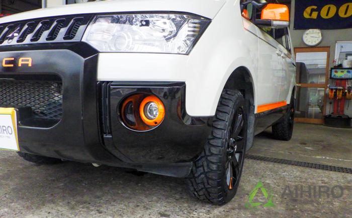デリカ タイヤ交換 オープンカントリー