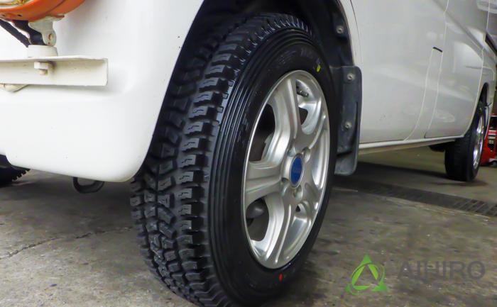 タウンボックス タイヤ交換 タイヤガーデン川越