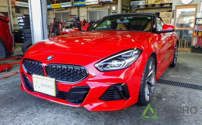 BMW Z4 相広タイヤ