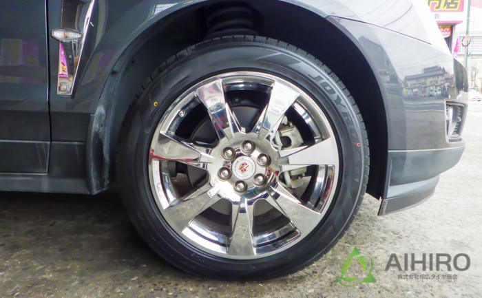 ジョイロード キャデラック タイヤ交換