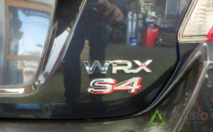WRX スバル タイヤ交換