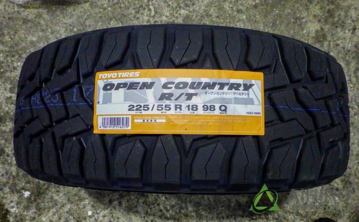 トーヨータイヤ オープンカントリーR/T タイヤ