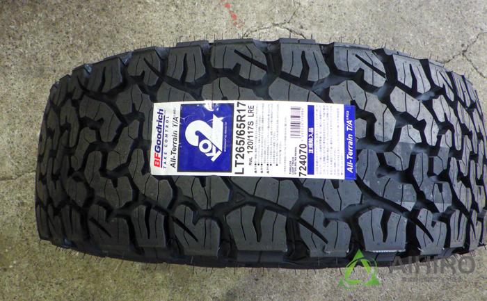 BFグッドリッチ オールテレーンT/A タイヤ交換