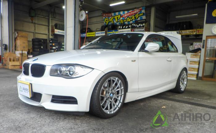 BMW M3 ホイールリペア