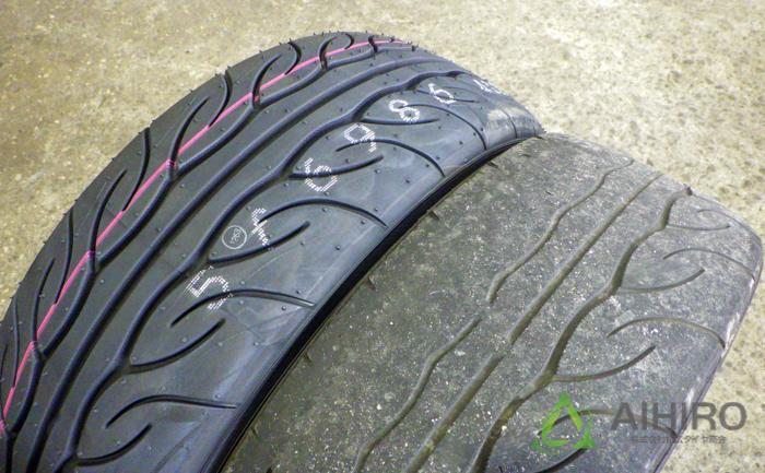 アドバンネオバ AD08R タイヤ交換