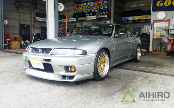 日産 GT-R ホイール交換