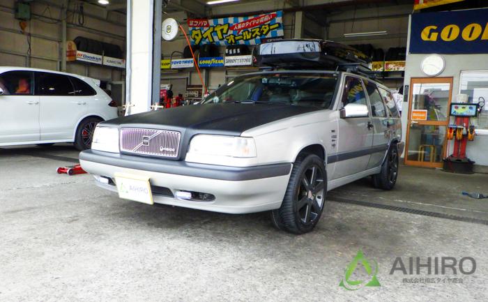 ボルボ850 タイヤ交換 相広タイヤ