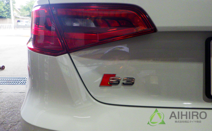 S3 タイヤ交換 アウディ